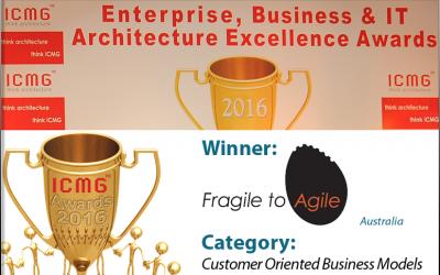 iCMG Enterprise & IT Architecture Awards 2016 – Fragile to Agile